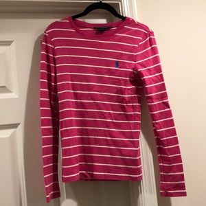 Like new Striped Ralph Lauren thin sweater, size M